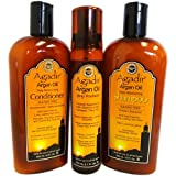 Agadir Argan Oil Daily Moisturizing 3 in 1 Combo Set II