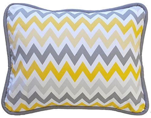 New Arrivals Accent Pillow, Mellow Yellow