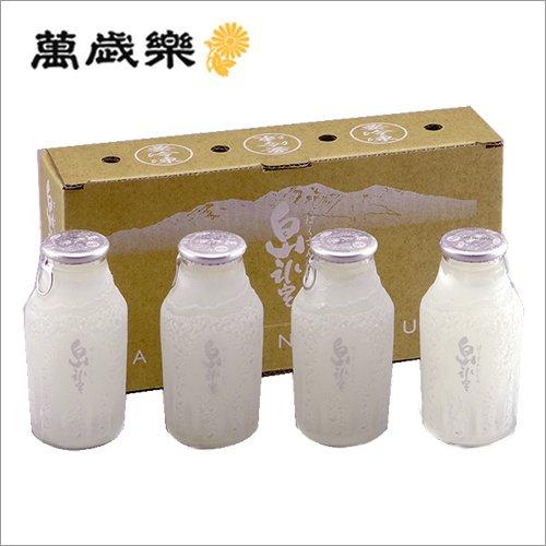 萬歳楽 白山氷室165ml×4本 凍結酒 純米吟醸酒 カップ酒・ミニボトル 冷酒 【要冷凍】