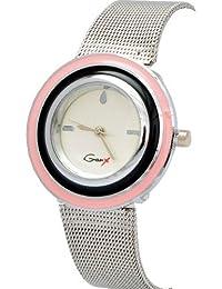 Angel Combo Of Fancy Wrist Watch And Sunglass For Women - B01FWB3DCI