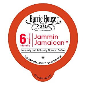 Barrie House Jammin Jamaican Flavored coffee Single Cup Capsule