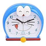 GATTS High grade plastic Doraemon cartoon blue Alarm clock from GATTS