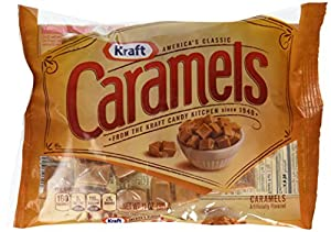 Kraft Artificially Flavoured Caramels, 11 Oz