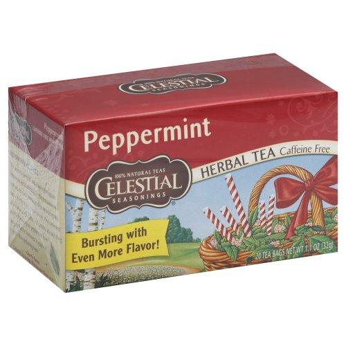 Celestial Seasonings Herb Tea Peppermint 20.0 Ct (Pack Of 2)