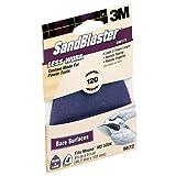 3M SandBlaster Mouse Sandpaper Sheets, 120-Grit, 4-Pack