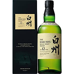SUNTORY Hakushu 12 Year Old Japanese Whisky 70cl Bottle