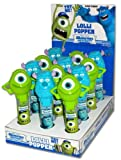 Monsters University Pop Ups Lollipop Candy 12 Pc Set (6 x Mike 6 X Sully)