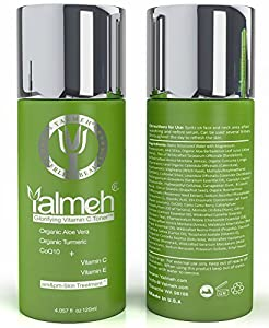 Yalmeh Peerless Beauty Glorifying Vitamin C Natural and Organic Anti Aging Face Skin Toner