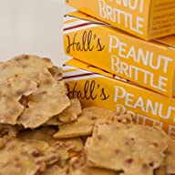 Hall's Peanut Brittle, 13 oz