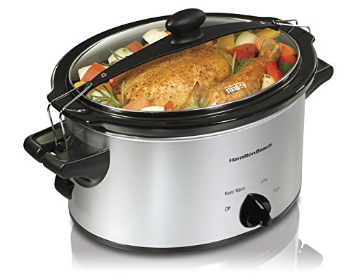 Hamilton Beach 33249 Stay or Go Slow Cooker, 4-Quart
