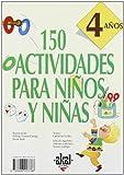 img - for 150 Actividades Para Nios y Nios de 4 Aos (Spanish Edition) book / textbook / text book