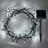 2 x Set Deal of 50 Cool White LED Solar Powered Garden Fairy Lights by Lights4fun