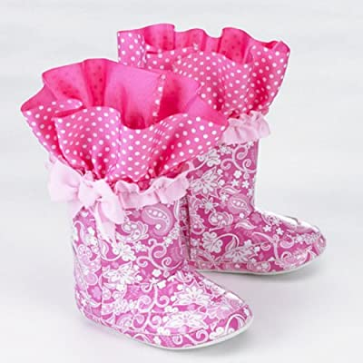 Mud Pie Baby Little Princess Rain Boots 12-18 months
