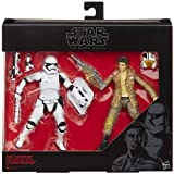 """Star Wars Black Series 6"""" Poe Dameron and First Order Riot Control Stormtrooper 2 Pack Figure"""