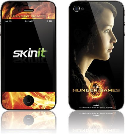 Skinit The Hunger Games -Katniss Everdeen Vinyl Skin for Apple iPhone 4 / 4S
