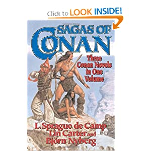 Sagas of Conan (Conan Series) by L. Sprague de Camp, Lin Carter and Bjorn Nyberg