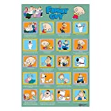 Posters: Family Guy Poster - Quotes (36 X 24 Inches)