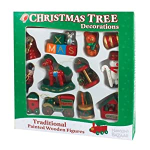 Christmas Items Wooden Christmas Tree Decorations Toy