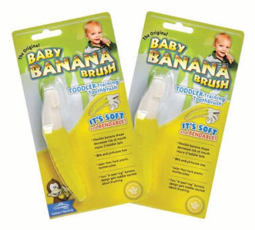 Baby Banana Teether front-155524