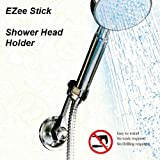 Suction Cup Shower Head Holder - Shower Head Adapter - Easy push-button installation
