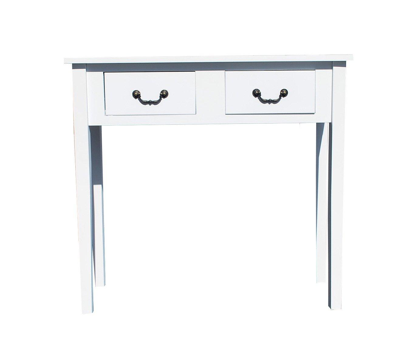 konsole tisch schreibtisch weiss landhaus 166. Black Bedroom Furniture Sets. Home Design Ideas