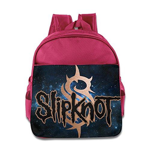 MEGGE Unisex Drawstring Bag2 Funny Bookbag Pink (New Slipknot Masks For Sale)