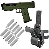 Tippmann TiPX Paintball Pistol w/ Holster and 10 Co2 Cartridges