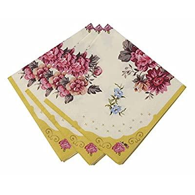 TALKING TABLES UTTERLY SCRUMPTIOUS 30-Pack Truly Scrumptious Napkins, 25 cm