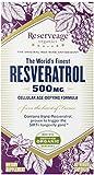 ReserveAge Resveratrol Vegetarian Capsules, 500 Mg, 60-Count