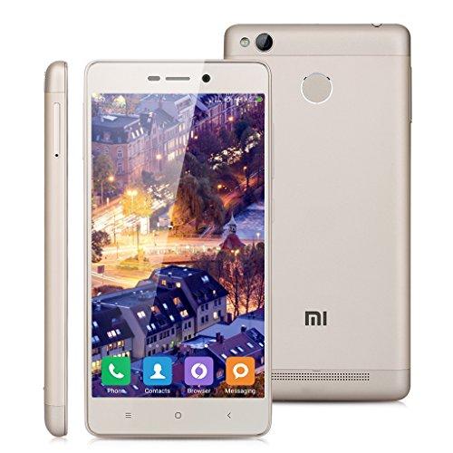 Xiaomi Redmi 3 Pro Gold shipping Europe 32 RAM 3 GB ROM Original GOLD systems Multilingua 5.0 inch HD 4 G LTE Smartphone Qualcomm Snapdragon 616 Octa Core sensor fingerprints fringerprint