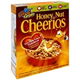 Honey Nut Cheerios, 25.25-Ounce Boxes (Pack of 6) ~ Cheerios