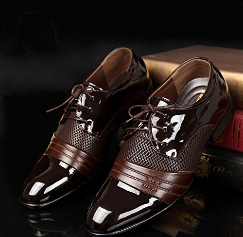 Vintage Design Men's Casual Leather Shoes(Black,Brown) (Shoe Design compare prices)