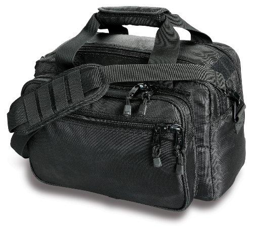 Uncle Mike's Law Enforcement Side-Armor Deluxe Range Bag, Black (Lockable Range Bag compare prices)