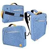 VanGoddy 3 in 1 Shoulder Bag Backpack and Messenger Bag for Dell Alienware 15 /Inspiron 14 3000 /Inspiron 15 5000 7000 15.6'' Laptop(Blue) by Vangoddy [並行輸入品]