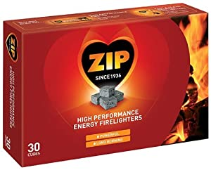 Zip 30 Firelighters (Pack of 4)