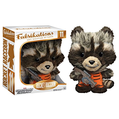 Guardians of the Galaxy - Mini peluches Funko di Rocket Raccoon - 15cm - Per fan della Marvel