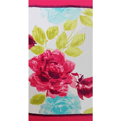 Bloomtastic Floral Velour Beach Towel, Multi