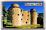 Nunney castle somerset Gift Souvenir Fridge Magnet