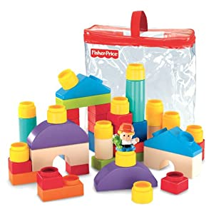 Fisher-Price Little People Builders Classic Shapes Blocks