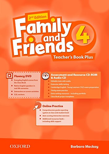 Family and Friends: Level 4: Teacher's Book Pack