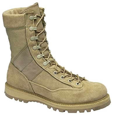 Women's Corcoran 9 inch Hot Weather Combat Boots Desert Tan, DESERT TAN, 7W