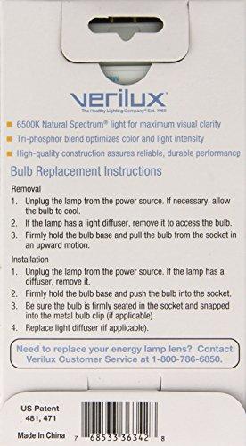 Verilux Cfml27vlx Natural Spectrum Replacement Bulb 27