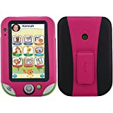HOTCOOL LeapFrog LeapPad Ultra XDi Case, LeapPad Ultra Case - New-Leather with Kickstand 2014LAM Case For LeapFrog LeapPad Ultra XDi(2014 Version) And LeapPad Ultra (2013 Version) Kids' Learning Tablet, Magenta