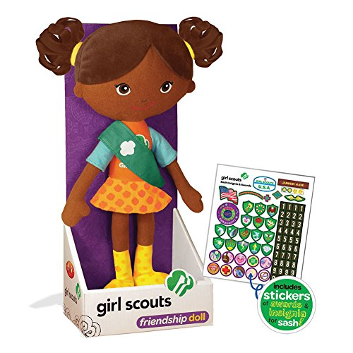 Carly 11.75 in. Soft Doll w/ 75 stickers