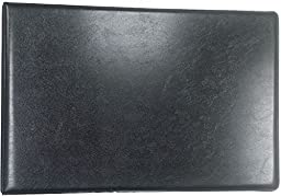 7-Ring 3-on-a-Page Business CheckBook Binder, Black Made in the USA by Tech Checks