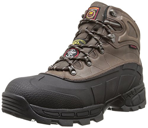 Skechers for Work Men's Radford Boot, Black/Brown, 10.5 M US (Insulated Work Shoes For Men compare prices)