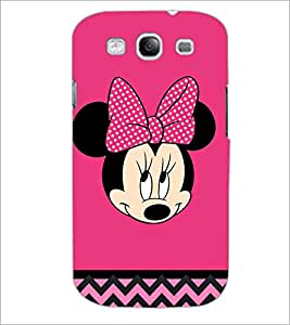PrintDhaba Minnie Mouse D-2324 Back Case Cover for SAMSUNG GALAXY S3 (Multi-Coloured)