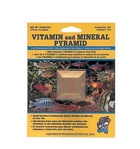 API 7-Day Vitamin and Mineral Pyramid Automatic Fish Feeder