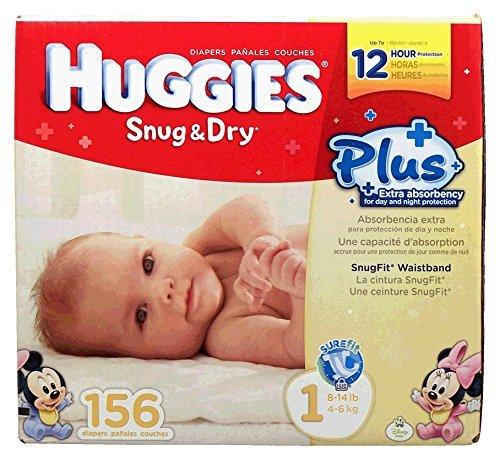 Huggies Snug & Dry front-1037840