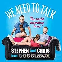We Need to Talk Audiobook by Stephen Webb, Chris Steed Narrated by Chris Steed, Stephen Webb